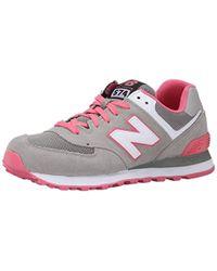 New Balance Wl574cpe Indoor Slippers - Grey