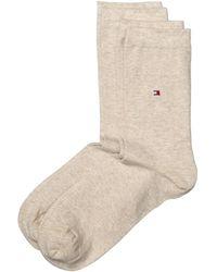Tommy Hilfiger Socken Th Sock Casual 2er Pack - Natur