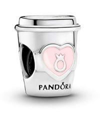 PANDORA Bead Charm Donna argento - 797185EN160 - Metallizzato