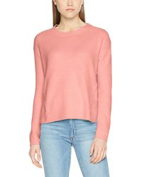 Tommy Hilfiger - BASIC SWEATER Langarm Regular Fit Pullover Rosa - Lyst