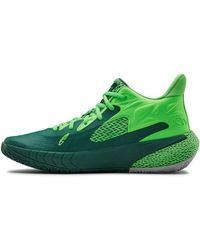 Under Armour Hovr Havoc 3 Basketball Shoe - Green