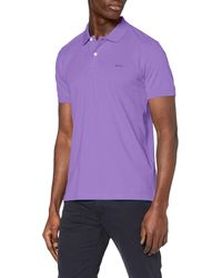 Esprit 020ee2k303 Polo Shirt - Purple