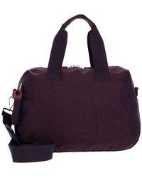 Mandarina Duck MD20 Lux Bowling Bag Blackberry Syrup - Viola