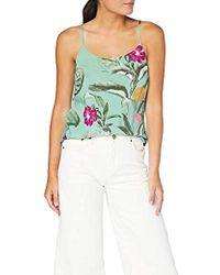 Vero Moda Vmsimply Easy Singlet Top Vestaglia Donna - Multicolore