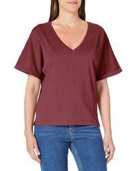 G-Star RAW Joosa V-neck T-shirt - Red