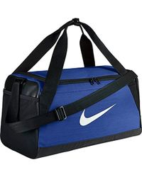Nike - Nk Brsla S Duff Sacca Palestra Uomo, Multicolore (Game Royal/Black) 24x15x45 Centimeters - Lyst