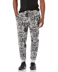 Amazon Essentials Disney Star Wars Marvel Fleece Sweatpants_dnu Pantalon de survêtement - Noir