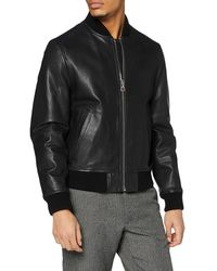 Tommy Hilfiger Bomber Varsity Jacket - Noir