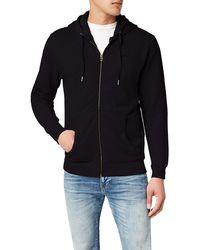 Pepe Jeans Zip Thru Pm581127 Hooded Jacket - Black