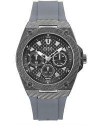 Guess Multi Dial Uhr Legacy - Grau