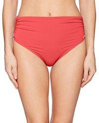 Vince Camuto - Convertible High Waist Bikini Bottom Swimsuit - Lyst
