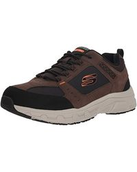Skechers Oak Canyon-51893 Sneaker, Navy/Lime Nvlm - Schwarz
