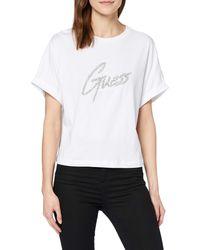 Guess - Ss Cn Marlene Tee T-shirt - Lyst
