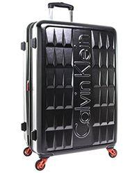 """Calvin Klein - Cornell 28"""" Hardside Spinner - Lyst"""