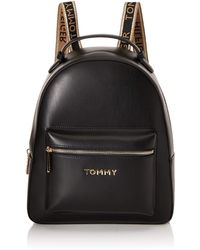 Tommy Hilfiger Iconic Tommy Backpack - Negro