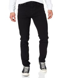 Springfield Vaquero slim negro bi-stretch Pantalones