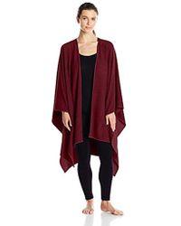 Natori - Brushed Blanket Wrap - Lyst