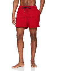 Tommy Hilfiger Medium Drawstring Bañador - Rojo