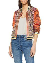 Desigual - Jacket Ribe Woman Red Blouson - Lyst