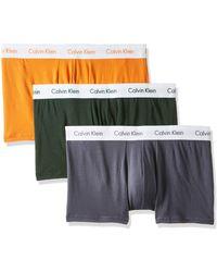 Calvin Klein Low Rise Trunk 3pk Boxer - Orange