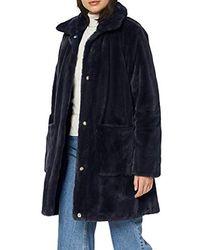Geox W Kaula Z Coat - Blue