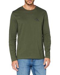 Calvin Klein CK Eco LS Tee Camicia - Verde