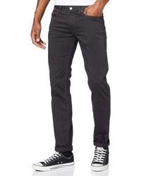 HUGO 708 Slim Jeans - Black