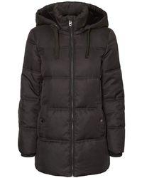Vero Moda VMNEAT Jacket Boos Cappotto - Nero