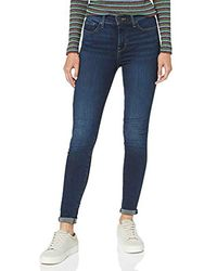 Levi's 310 Shaping Super Skinny Jeans Donna - Blu