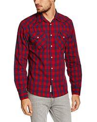 Lee Jeans - Herren Freizeithemd Western Shirt - Lyst
