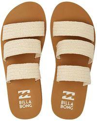 Billabong Chunky Sole Platform Sandals - - Eu 38 - Natural