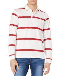 Cortefiel Polo ga Larga Suéter - Rojo