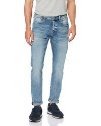 Scotch & Soda - Ralston-watercolor Slim Jeans, (water Colour 3067), 34w / 34l - Lyst