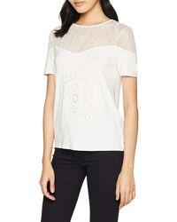 Desigual T-Shirt Donna TS Cannes 19SWTKAM l Bianco