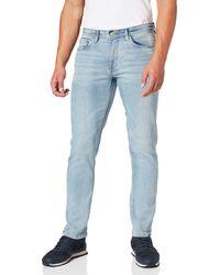 Springfield Jeans Regular Lavado Claro Pantalones - Azul
