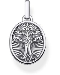 Thomas Sabo Silver Pendant Pe864-637-21 - Metallic