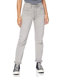 Levi's - 501 Crop Straight Jeans - Lyst