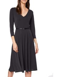 Esprit Collection 129eo1e021 Vestido - Negro