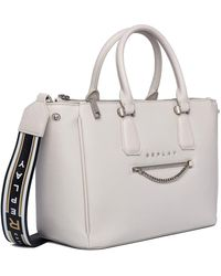 Replay Fw3898.000.a0132d 's Top-handle Bag - Grey