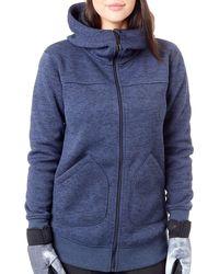 Burton Jacke Minxy Full-Zip Hood Jacke - Blau