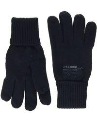 Superdry Orange Label Glove Gants - Bleu