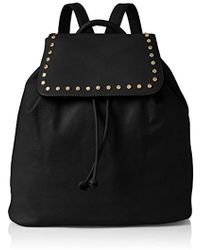 Miss Selfridge - S Rucksack Backpack Black (black) - Lyst