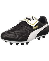 PUMA King Indoor Football Trainers in White for Men - Lyst bf6b26be9
