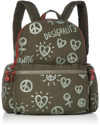Desigual Oss Backpack Mini entièrement Oss Backpack Mini Kaki - Vert