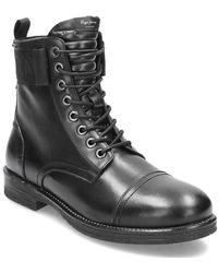 Pepe Jeans London Tom Cut Boot Toto Desert - Black