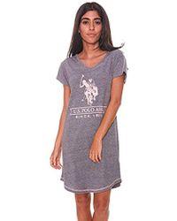 U.S. POLO ASSN. - Short Sleeve Dorm Sleepshirt - Lyst