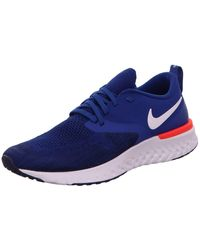 Nike Odyssey React Flyknit 2 Running Shoe - Blue