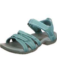 Teva Tirra Sports And Outdoor Lifestyle Sandal - Blue