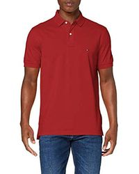 Tommy Hilfiger Tommy Regular Polo - Rouge