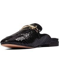 Clarks S Pure2 Mule Shoes - Black